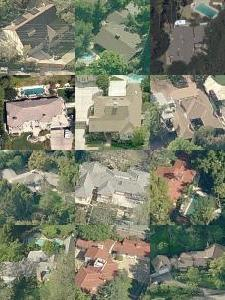 Maps to celebrity homes in los angeles