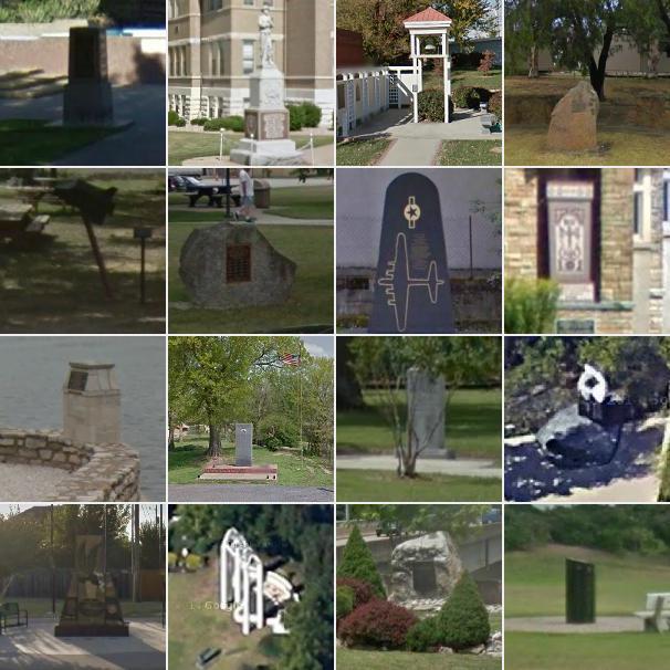 Safari 115 Monuments and Memorials